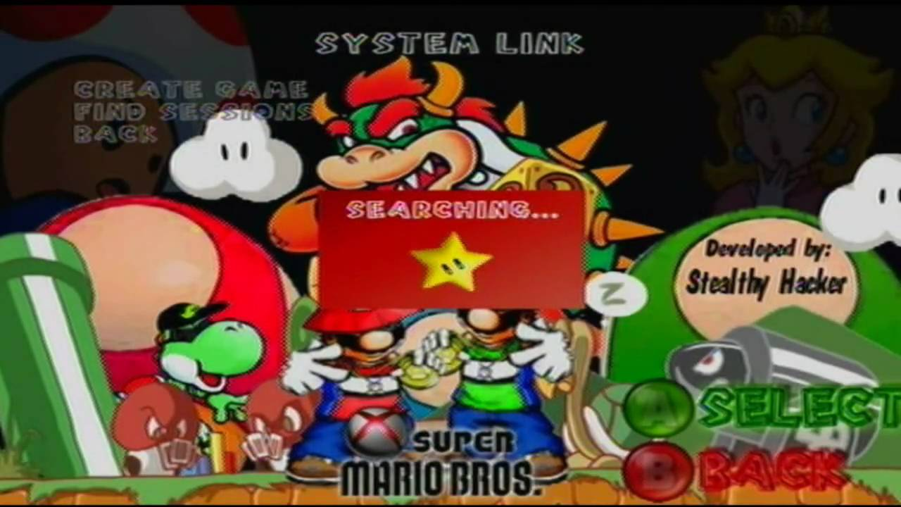 Super Mario Bros For Xbox 360 Youtube