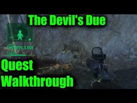Fallout 4 Deathclaw Gauntlet Location The Devil S Due Walkthrough Hd Youtube