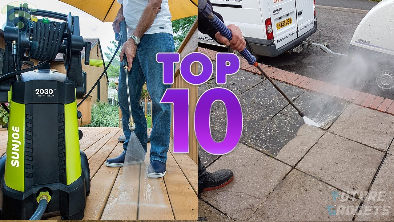 10 Best Electric Pressure Washers for Around Your Home in 2019