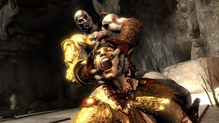 God of War III - KRATOS vs HELIOS GOD OF THE SUN BOSS FIGHT 1080P 60FPS