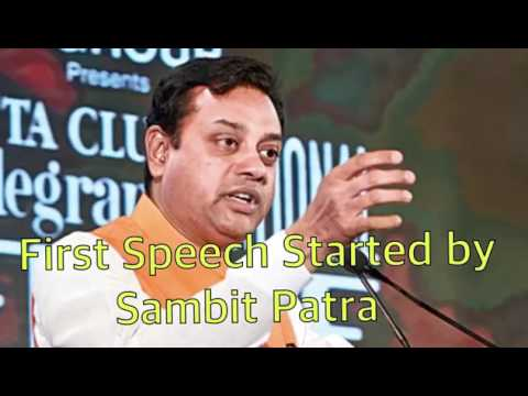 Full Debate - Kanhaiya vs Sambit Patra 2017 National Telegraph Debate