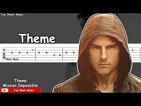 Mission Impossible - Theme Guitar Tutorial