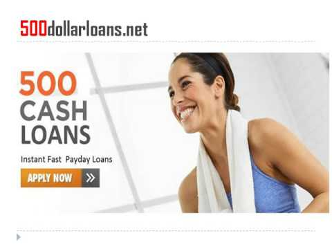 Access The 500 Dollar loans Till The Arrival Of Next Payday!