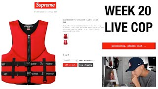 Today is the last week of Supreme Spring Summer 2018 and we have so...