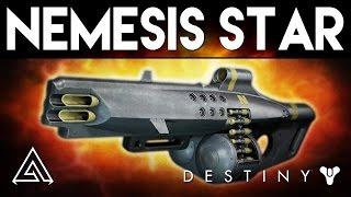 Destiny Rise of Iron | NEMESIS STAR REVIEW -  New Exotic Machine Gun Gameplay