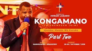 Gambar cover Mwaka Wa Kuvuka - Part 2 (Kongamano La Ebenezer KIM)