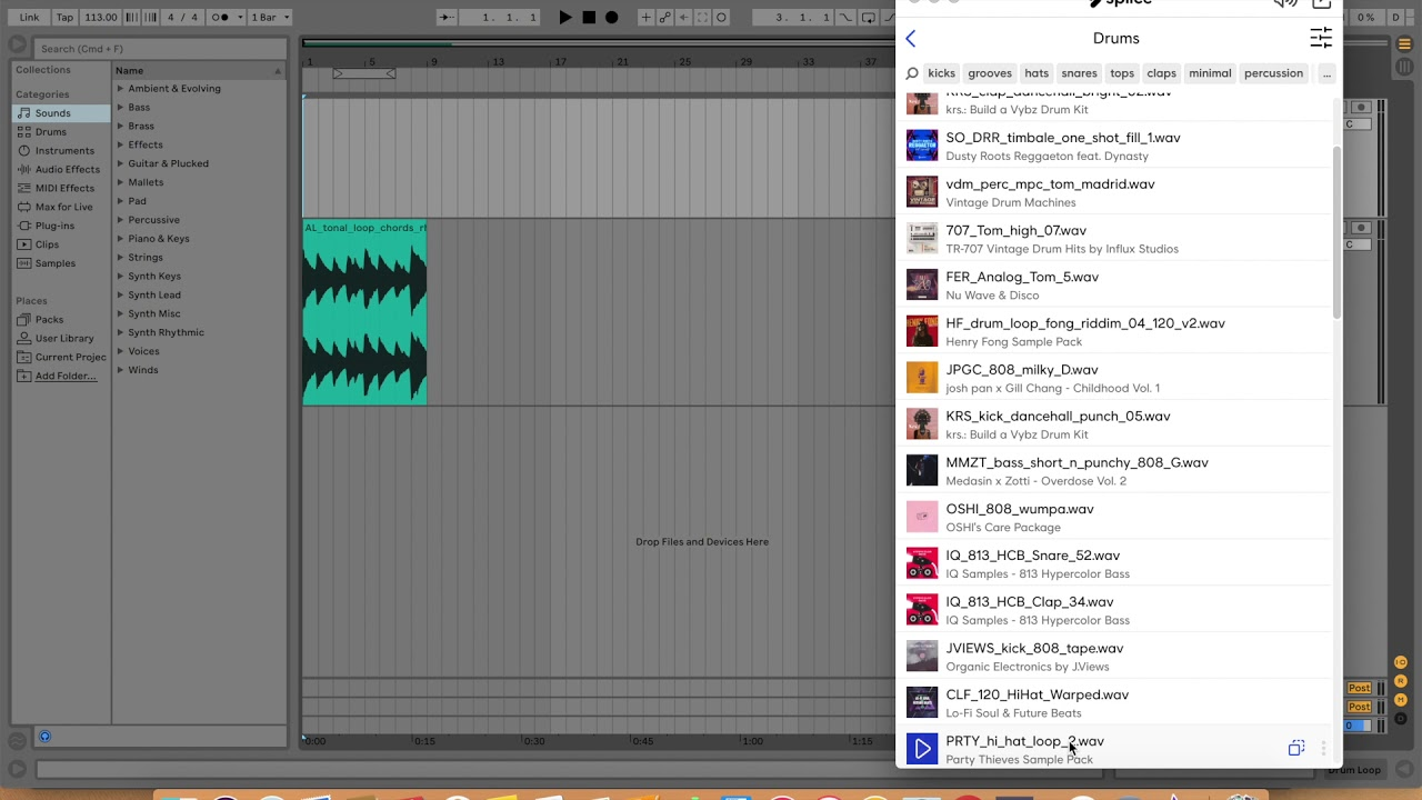Adding Splice Sounds to your DAW – Help Center