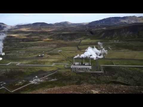 Geothermiekraftwerke in Island - Energie-Reporter Jochen Mattern
