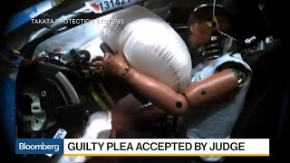 Takata Pleads Guilty in Deadly Air Bag Case