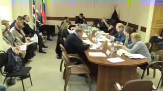 Заседание совета депутатов МО Щукино в г. Москве 30 03 2017