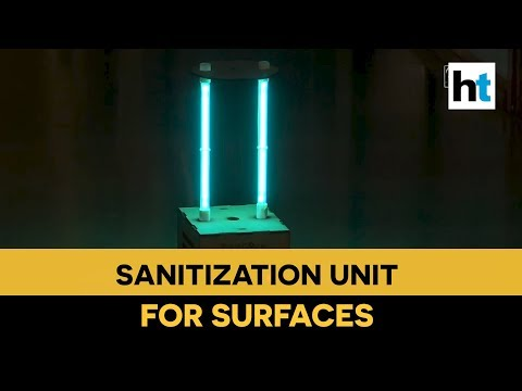 Pune Based Start-up Develops Sanitization Unit To Disinfect Surfaces Within 15 Minutes