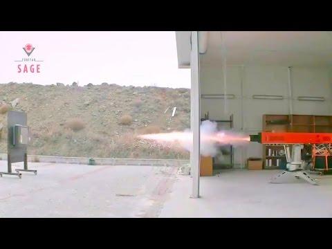 Tubitak Sage - Turkey Sapan Electromagnetic Railgun Testing [720p]