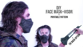 How to Make Fabric Face Mask