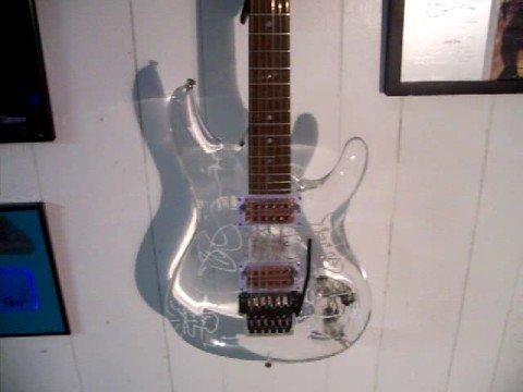 Joe Satriani Ibanez JS2KCP #4/#200 Artwork by JOE!!