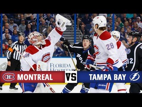 Montreal Canadiens vs Tampa Bay Lightning   Season Game 78   Highlights (1/4/2017)