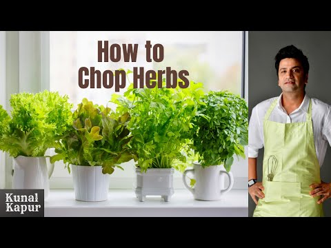 How to chop Coriander | Kunal Kapur Recipes | Tips & Tricks