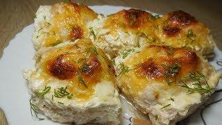 ✅Куриные шарики в сырно – сливочном соусе/Chicken balls in cheese-cream sauce
