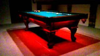 Oracle Led Rgb Lights On Pooltable