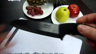 Keramický nôž - ČIERNY (YOKO design)