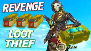 Getting REVENGE on a Loot thief Teammate.. (Apex Legends)