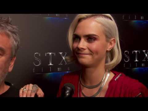 Valerian: Cara Delevingne & Director Luc Besson CinemaCon Interivew
