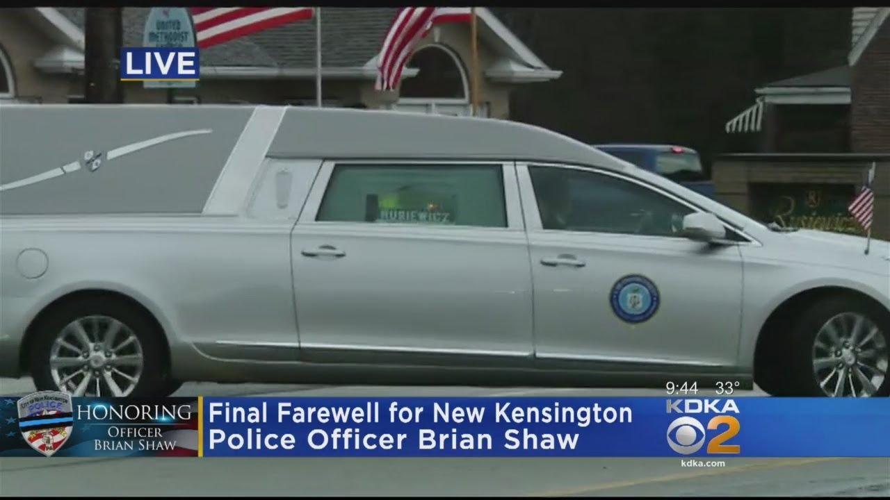 Funeral Procession Begins For Fallen New Kensington Police Officer