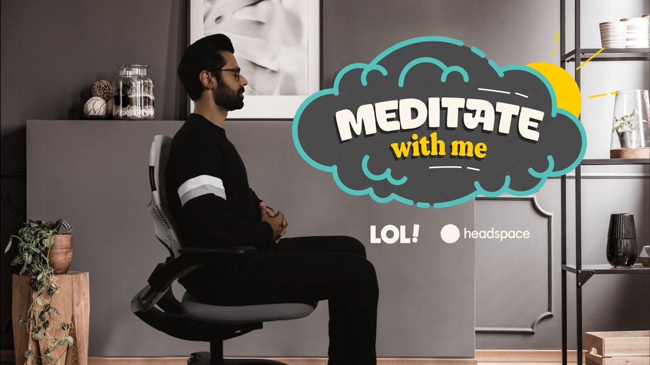 Meditate With Hasan Minhaj | Meditate With Me | Laugh Out Loud Network