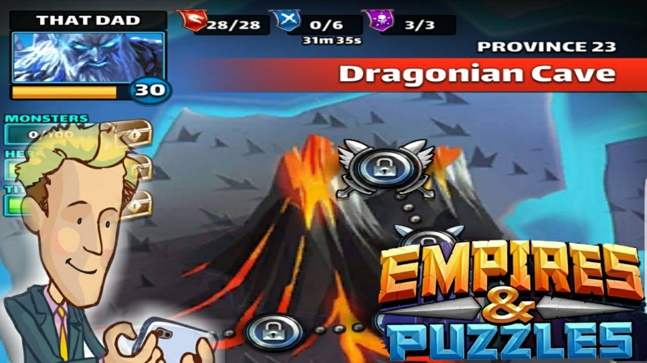 Province 23 Stage 1-2!!! Empires And Puzzles