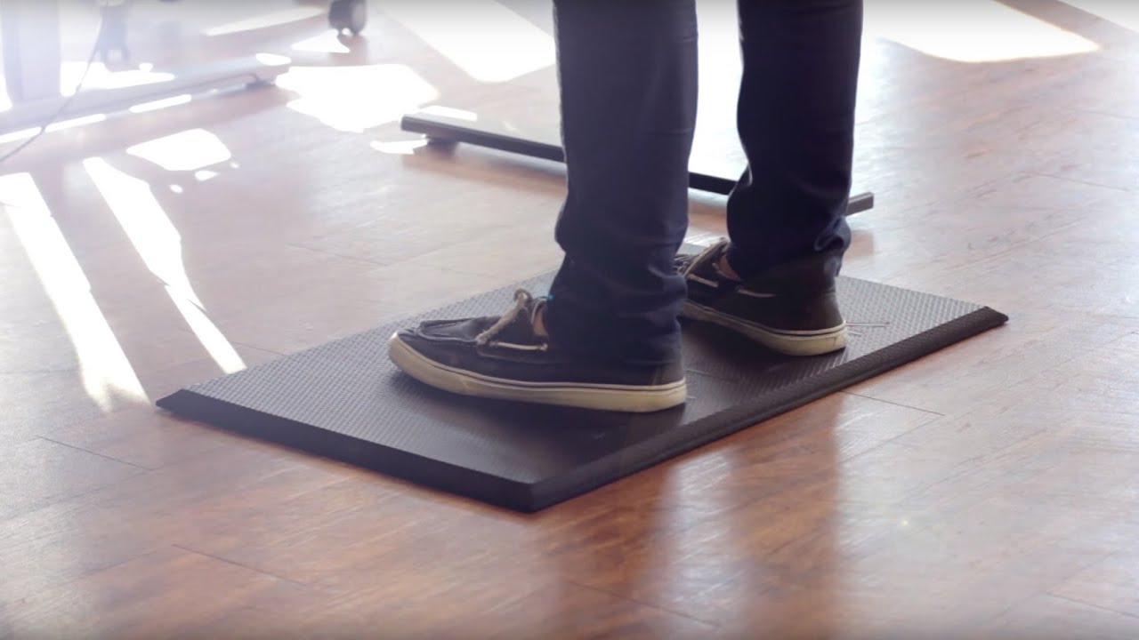 The UPLIFT Standing Desk Mat Review YouTube