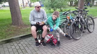 Велопутешествие по Калининградской области, через Литву до Риги