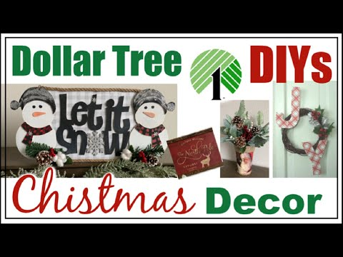 Dollar Tree DIY CHRISTMAS Decor 2019 | Momma From Scratch
