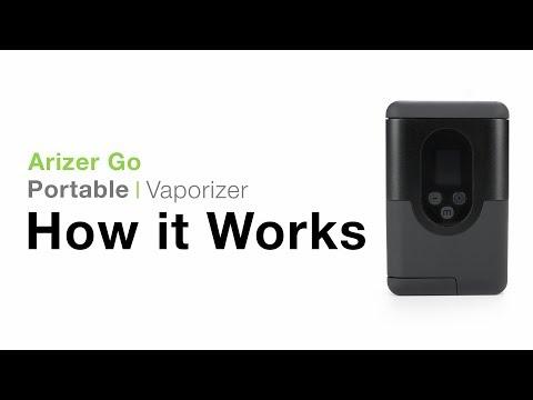 Arizer Go (ArGo) Portable Vaporizer Tutorial – TVape
