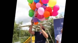 Lâcher de ballons Sébastien Chabal