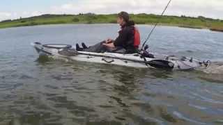 Essai du Torqeedo Ultralight 403 sur le kayak RTM Abaco 360 Luxe