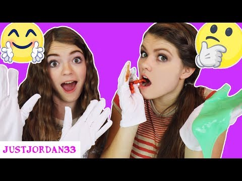 WHITE GLOVES CHALLENGE!! -Extremely MESSY- /JustJordan33