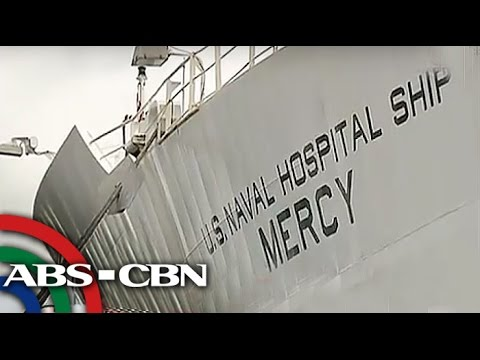 Hospital ship ng US, nakadaong sa Subic