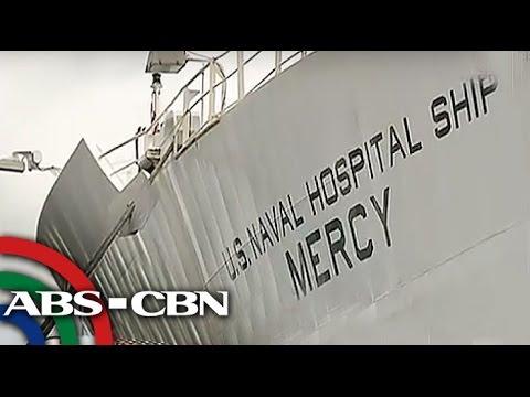Hospital ship ng US, nakadaong sa Subic
