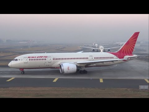 Back to Back Air India Boeing 787 Dreamliner at Mumbai Airport