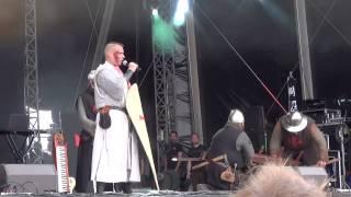 Heimataerde - Templerblut (Live M'era Luna 2012)