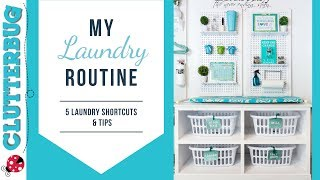 My Simple Laundry Routine - 5 Laundry Shortcuts & Tips
