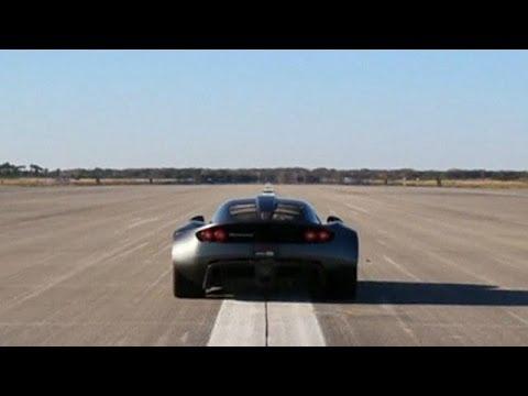 """El auto deportivo que """"rompió"""" el récord de velocidad"""
