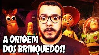 Teoria da Pixar: A ORIGEM DOS BRINQUEDOS!