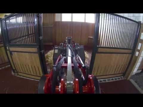 Video Kompaktní kloubové nakladače Hoftrac