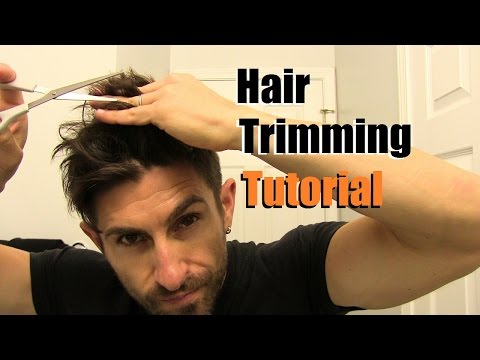 The EASY Home Haircut | How To Cut Your Own Hair At Home | Trimming Tips & Tricks