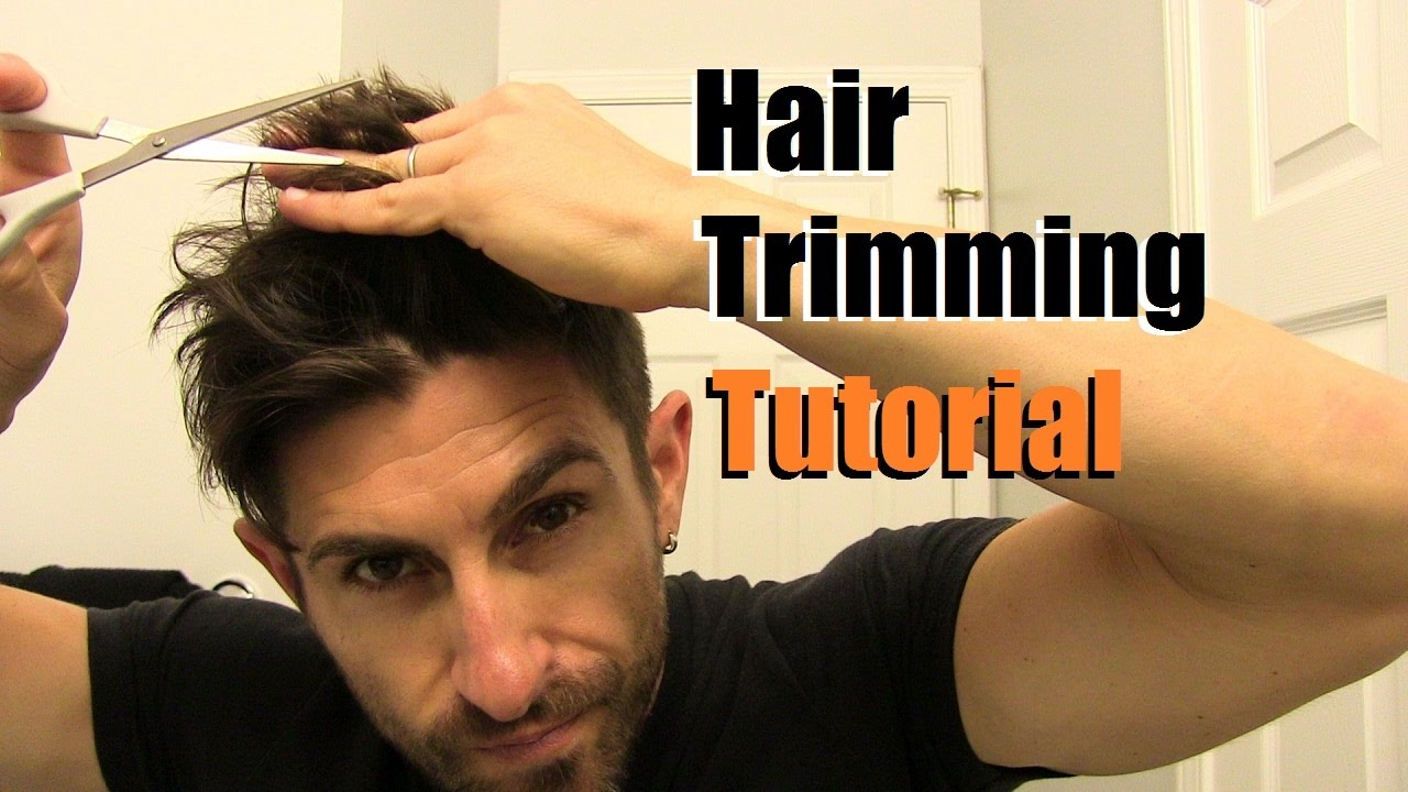 the easy home haircut | how to cut your own hair at home | trimming