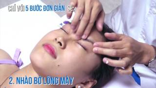 Massage mắt hỗ trợ điều trị tật khúc xạ