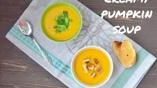 Spicy pumpkin cream - soup | Пряный тыквенный крем-суп