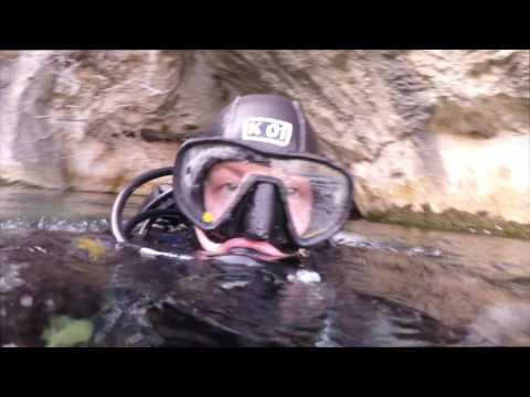Ardeche France   Cave diving
