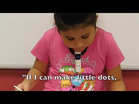 The Dot read by Lytle Primary School students