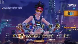 Overwatch IDDQD as Tracer & Mccree With 61 Elims on Lijiang